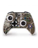 Houston Astros Realtree Xtra Green Camo Xbox One S Controller Skin