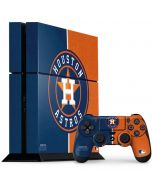 Houston Astros Split PS4 Console and Controller Bundle Skin