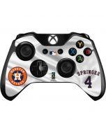 Houston Astros Springer #4 Xbox One Controller Skin