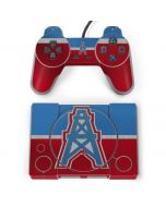 Houston Oilers Vintage PlayStation Classic Bundle Skin