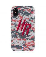 Houston Rockets Digi Camo iPhone XS Pro Case
