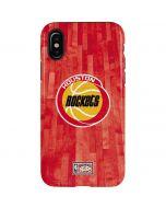 Houston Rockets Hardwood Classics iPhone X Pro Case