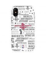 Houston Rockets Historic Blast iPhone X Pro Case