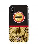 Houston Rockets Retro Palms iPhone XS Pro Case