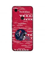Houston Texans - Blast Google Pixel 3a Skin