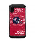 Houston Texans - Blast iPhone XS Max Cargo Case