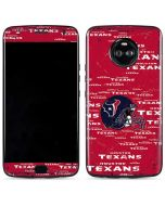 Houston Texans - Blast Moto X4 Skin
