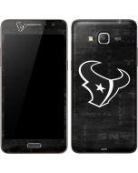 Houston Texans Black & White Galaxy Grand Prime Skin