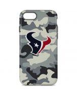Houston Texans Camo iPhone 8 Pro Case