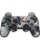 Houston Texans Camo PS3 Dual Shock wireless controller Skin