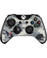 Houston Texans Camo Xbox One Controller Skin