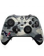 Houston Texans Camo Xbox One Elite Controller Skin