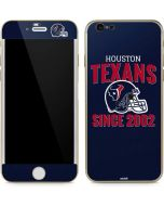 Houston Texans Helmet iPhone 6/6s Skin