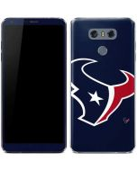Houston Texans Large Logo LG G6 Skin