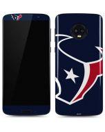 Houston Texans Large Logo Moto G6 Skin