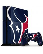 Houston Texans Large Logo PS4 Console and Controller Bundle Skin