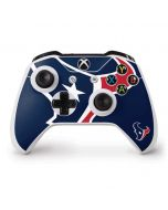 Houston Texans Large Logo Xbox One S Controller Skin