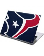 Houston Texans Large Logo Yoga 910 2-in-1 14in Touch-Screen Skin
