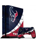 Houston Texans PS4 Console and Controller Bundle Skin