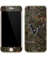 Houston Texans Realtree Xtra Green Camo iPhone 6/6s Skin