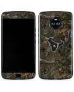 Houston Texans Realtree Xtra Green Camo Moto X4 Skin