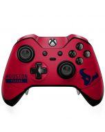 Houston Texans Red Performance Series Xbox One Elite Controller Skin