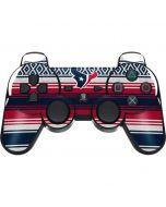 Houston Texans Trailblazer PS3 Dual Shock wireless controller Skin