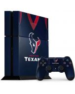 Houston Texans Team Jersey PS4 Console and Controller Bundle Skin