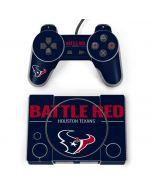 Houston Texans Team Motto PlayStation Classic Bundle Skin
