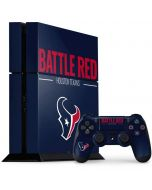 Houston Texans Team Motto PS4 Console and Controller Bundle Skin