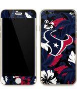 Houston Texans Tropical Print iPhone 6/6s Skin