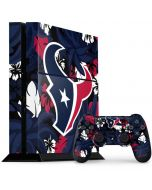 Houston Texans Tropical Print PS4 Console and Controller Bundle Skin
