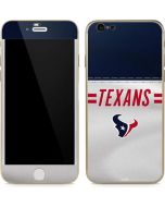 Houston Texans White Striped iPhone 6/6s Skin