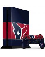 Houston Texans Zone Block PS4 Console and Controller Bundle Skin