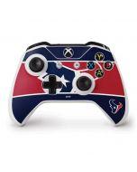 Houston Texans Zone Block Xbox One S Controller Skin