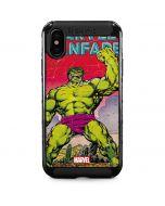 Hulk Marvel Fanfare iPhone XS Max Cargo Case