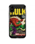 Hulk vs Raging Titan iPhone XS Max Cargo Case
