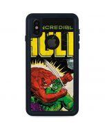 Hulk vs Raging Titan iPhone XS Waterproof Case