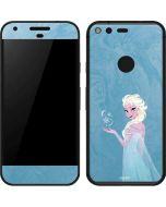 Ice Blue Elsa Google Pixel Skin