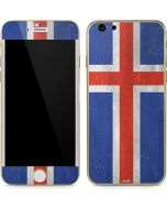 Iceland Flag Distressed iPhone 6/6s Skin
