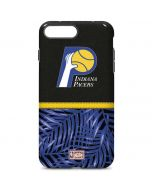 Indiana Pacers Retro Palms iPhone 7 Plus Pro Case