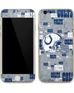 Indianapolis Colts - Blast iPhone 6/6s Skin