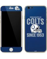 Indianapolis Colts Helmet iPhone 6/6s Skin