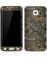 Indianapolis Colts Realtree Xtra Green Camo Galaxy S6 Edge Skin