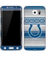 Indianapolis Colts Trailblazer Galaxy S6 Edge Skin