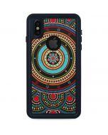 Infinite Circle Colored iPhone XS Waterproof Case