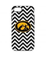 Iowa Hawkeyes Chevron Print iPhone 8 Pro Case
