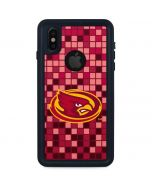 Iowa State Checkered iPhone X Waterproof Case