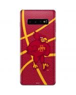 Iowa State Cyclones Mascot Galaxy S10 Plus Skin