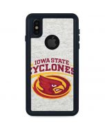 Iowa State Grey iPhone X Waterproof Case